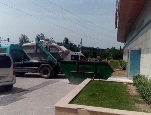 Извозване на боклука след ремонт