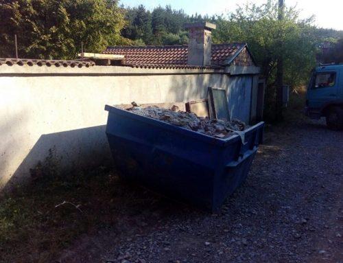 Контейнери за строителни отпадъци от Спасови Транс ЕООД