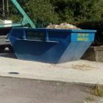 Чисто нови контейнери за строителни отпадъци