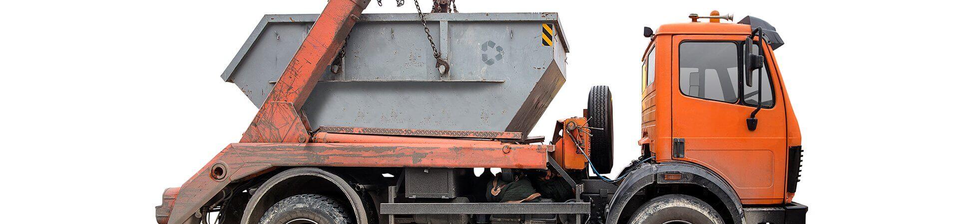 камион за извозване на отпадъци