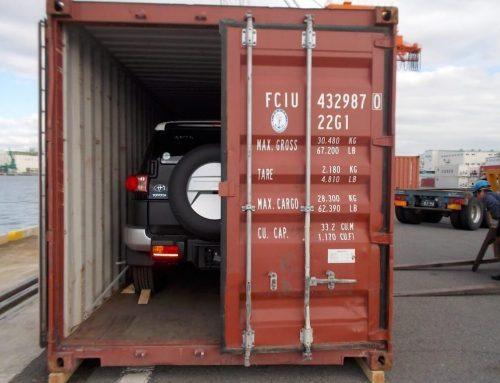 Превоз на автомобили в контейнери