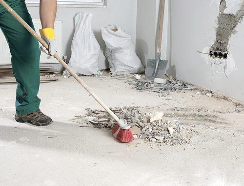 Ремонт в апартамента – изхвърляне на строителни отпадъци