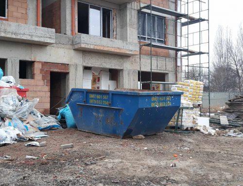 Изхвърляне на стари мебели и извозване до депо