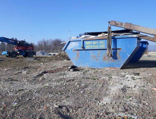 Предимствата на фирма Спасови транс при извозването на отпадъци с контейнери