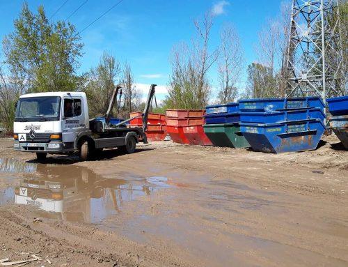 Организация по извозване на строителните отпадъци
