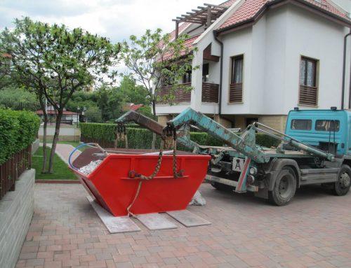 Предимства от събирането на боклука в контейнери